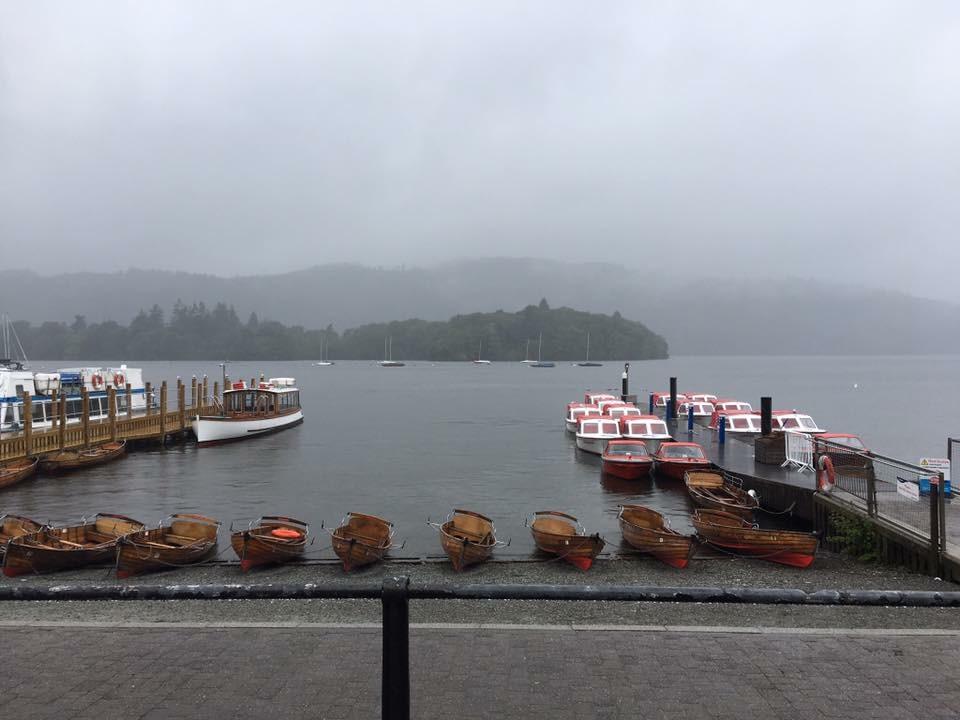 Moody sky at Lake Windermere