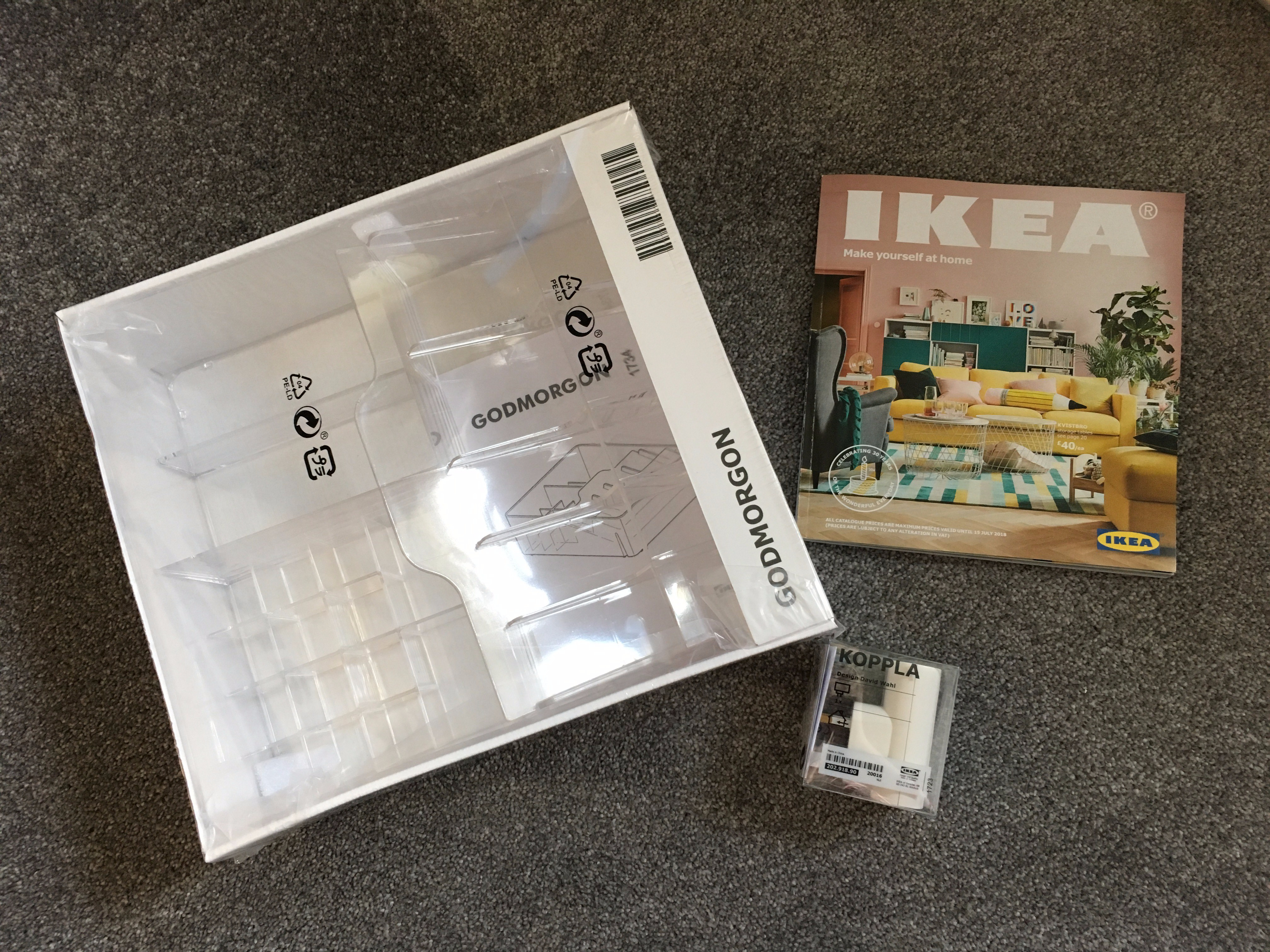 What I bought at Ikea