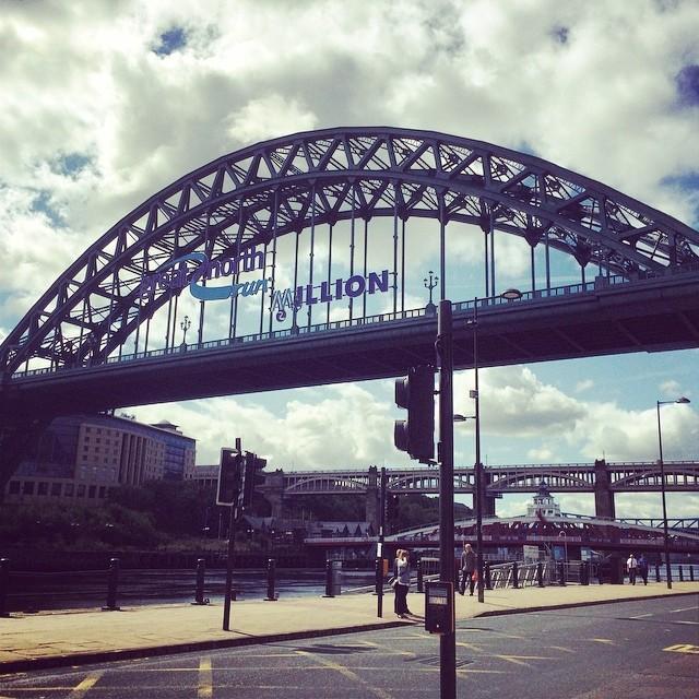Tyne Bridge Newcastle Quayside