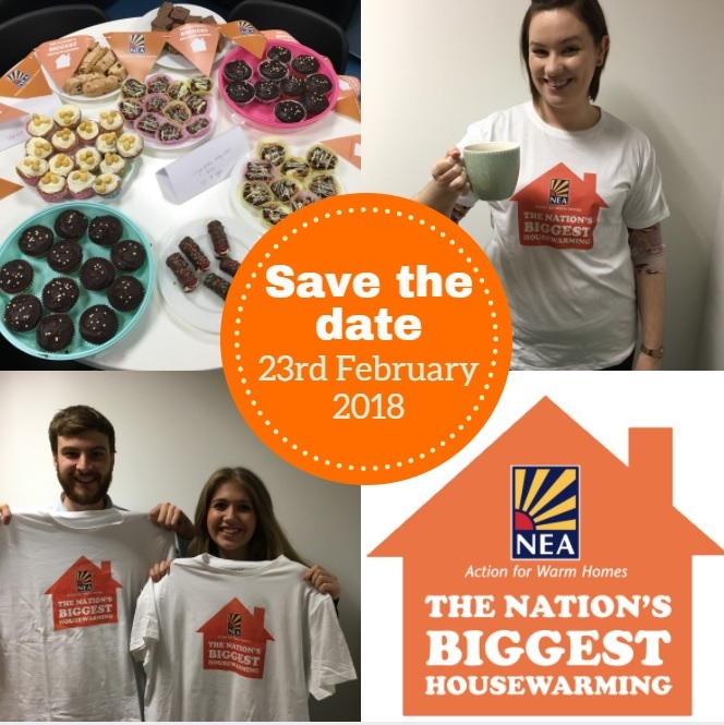 Save the date housewarming