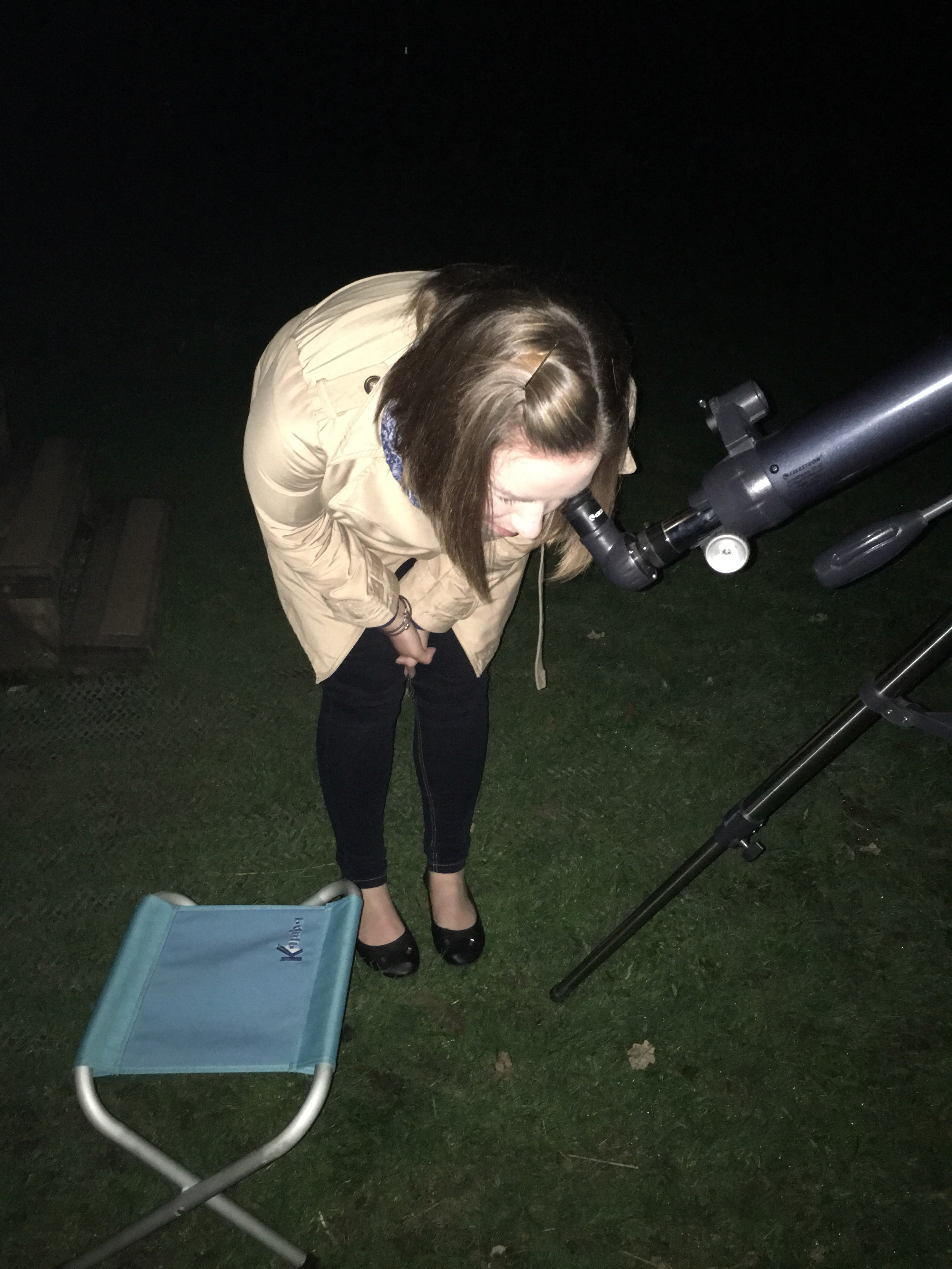 Me finding the moon