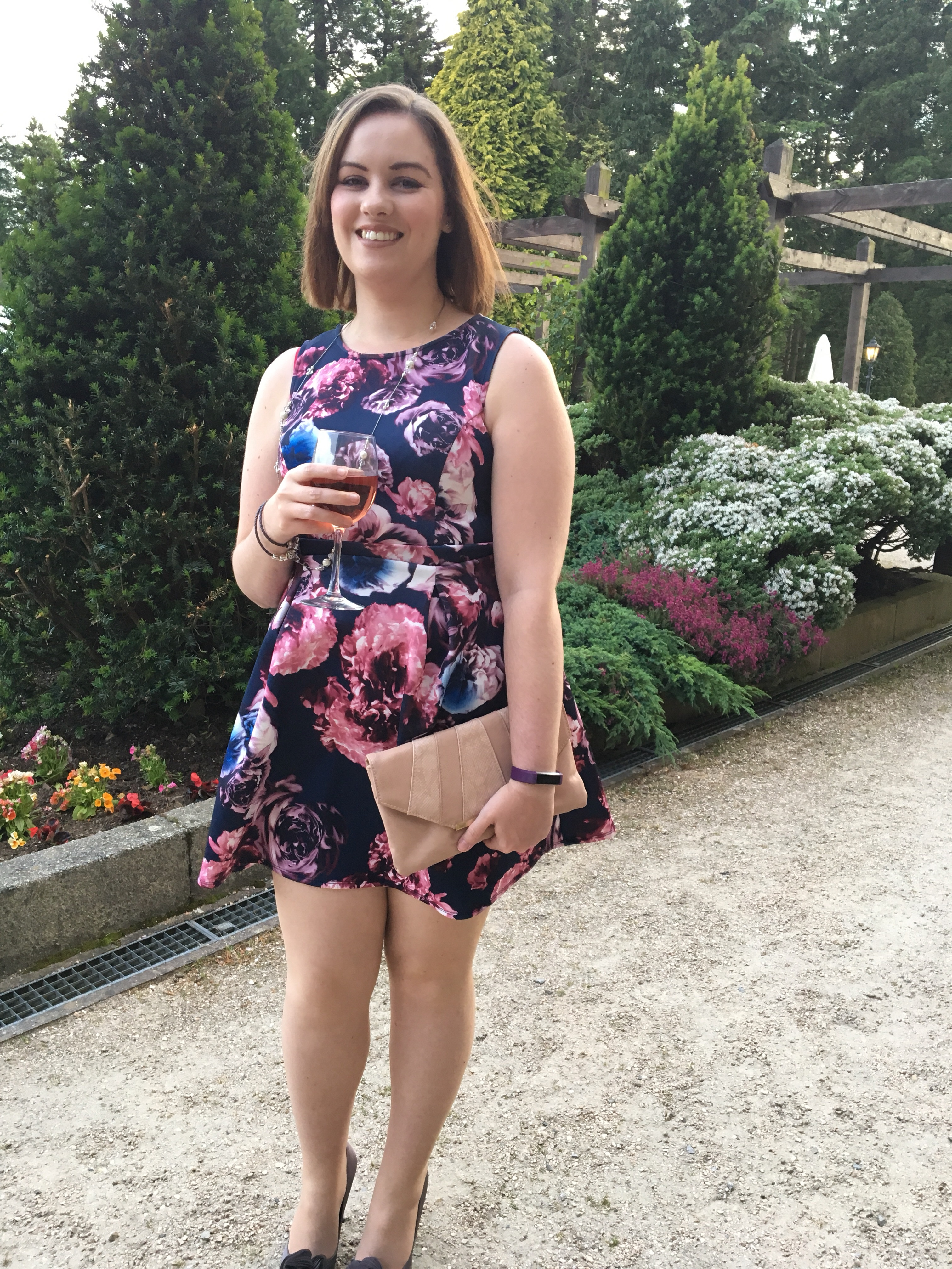 Me in the ornamental gardens