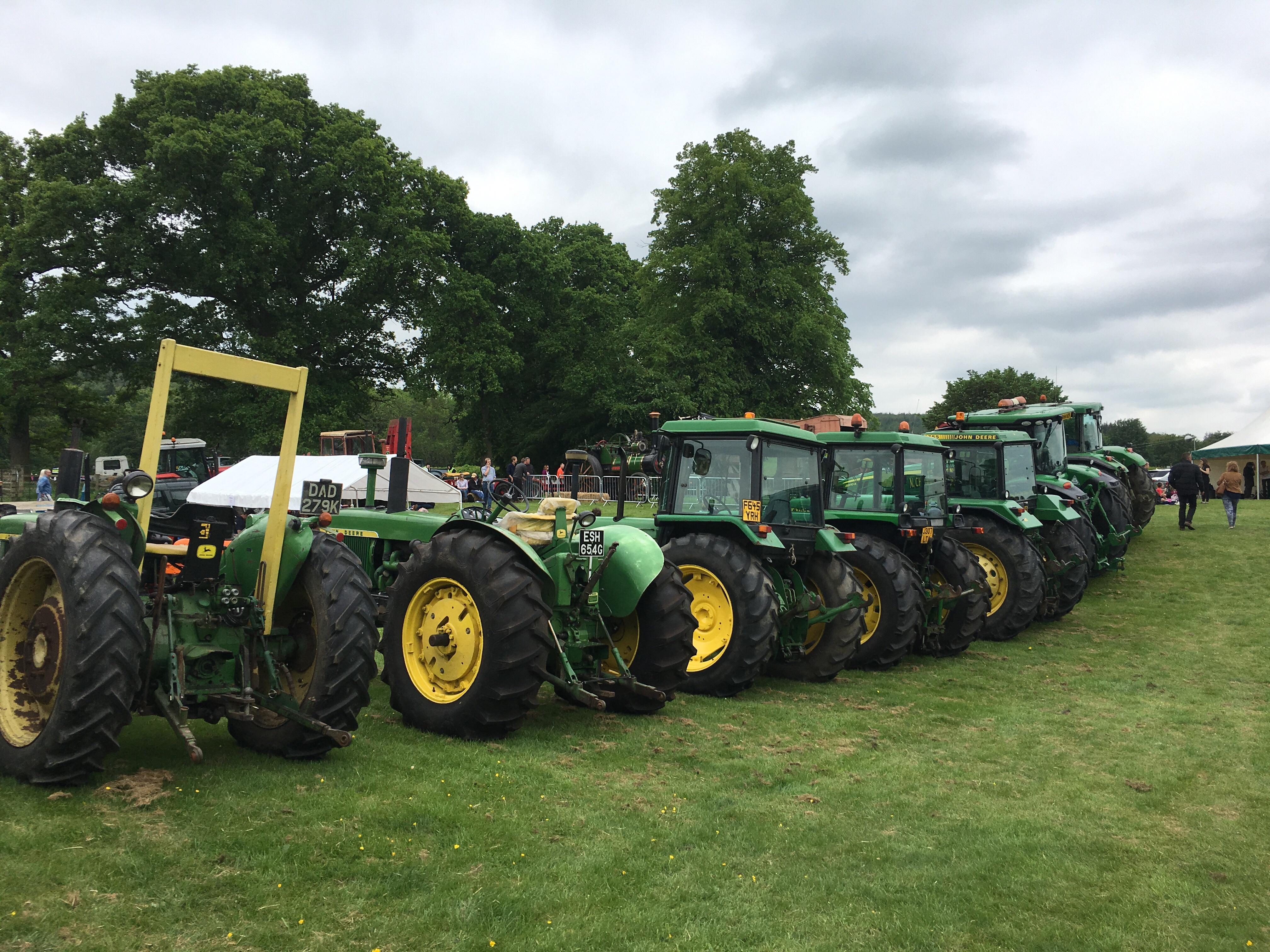 Tractors at the Northumberland County Show