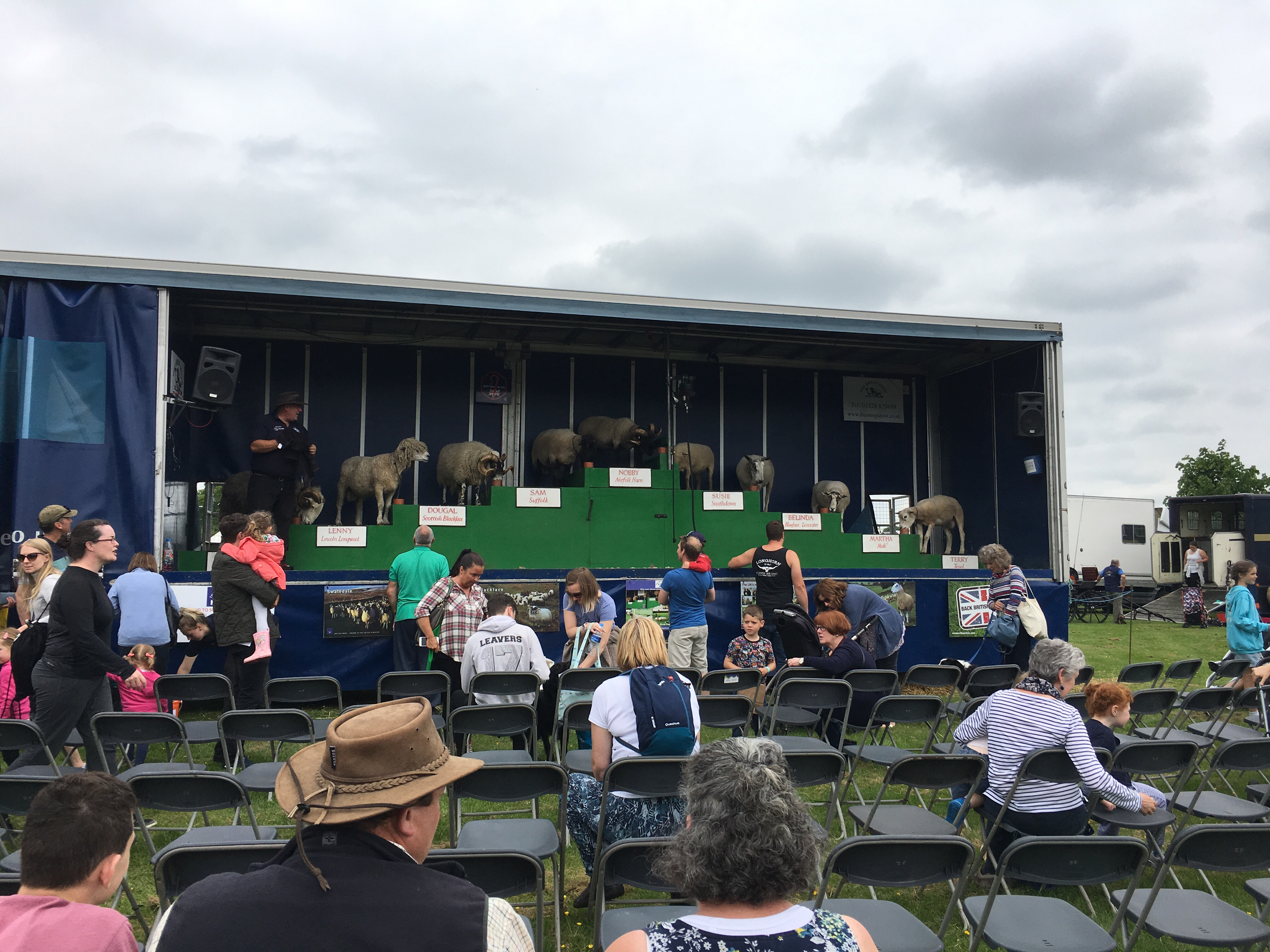 The Sheep Show at the Northumberland County Show