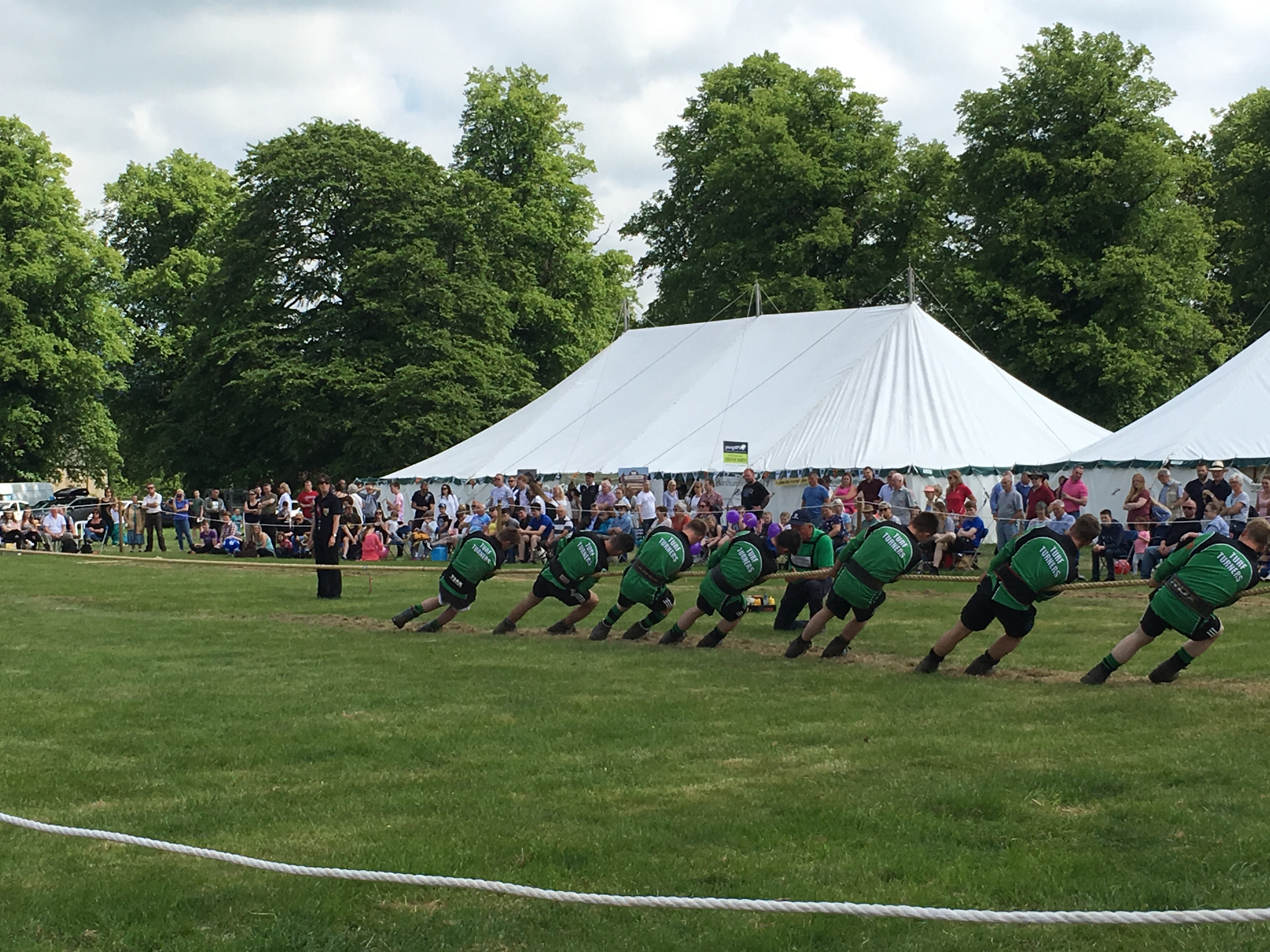 The tug of way at Northumberland County Show