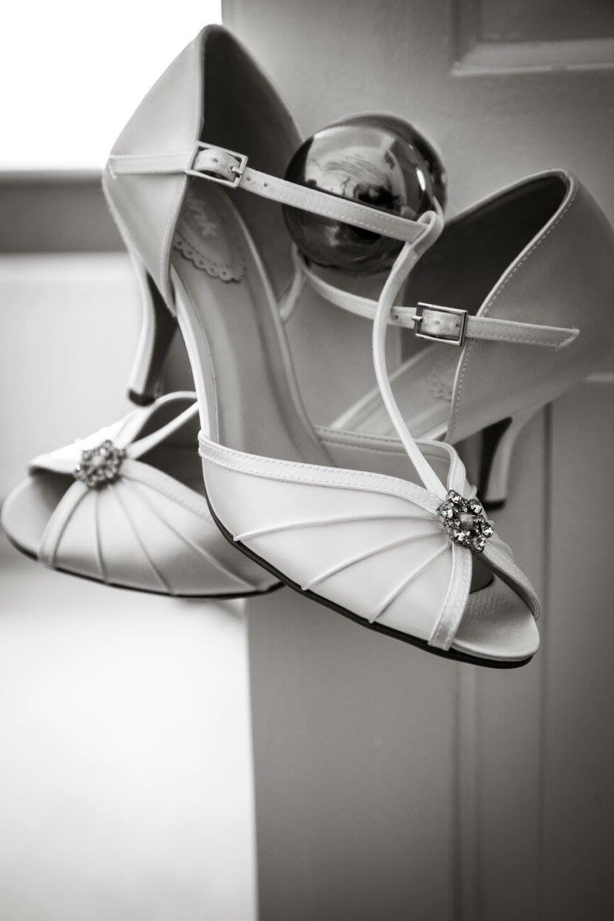 My wedding shoes. Photo: Ed and Maggie Sewell