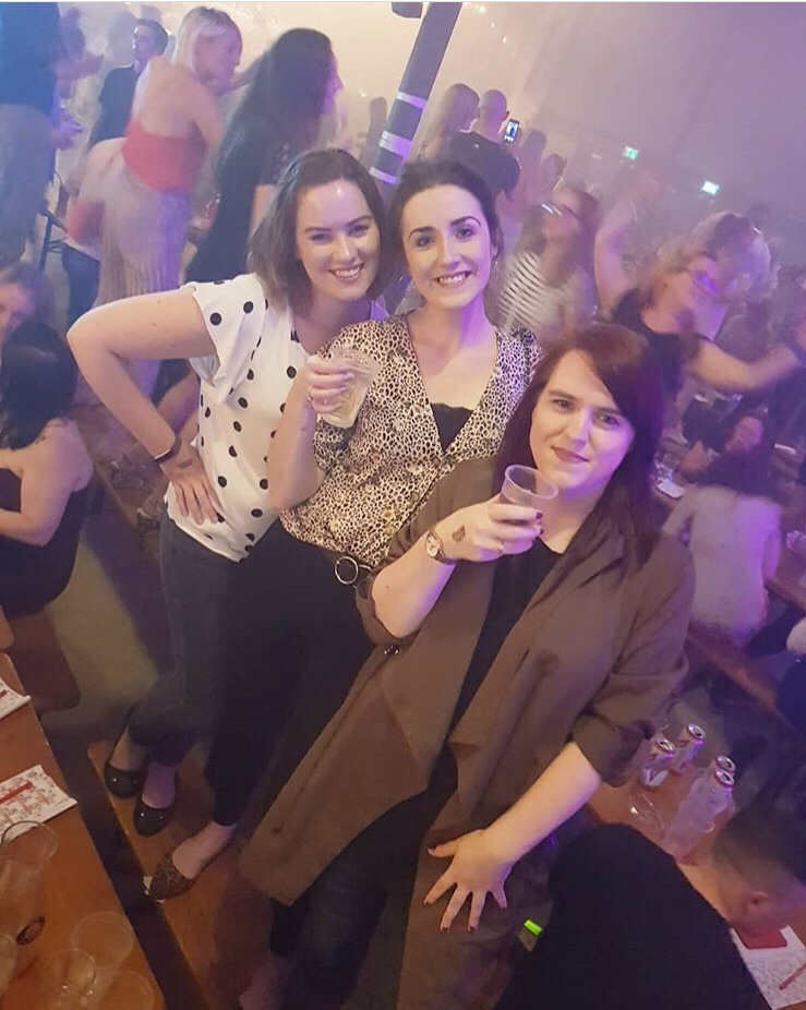 Me, Catherine and Joanne