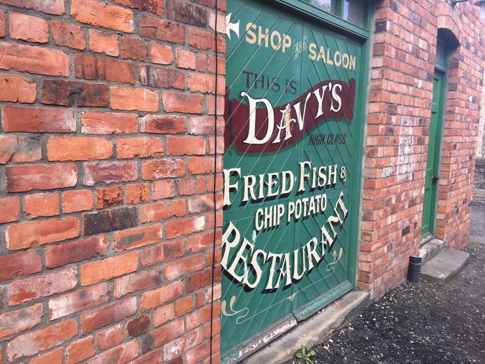Davy's fish shop