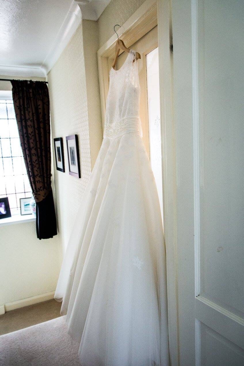 My wedding dress photo taken by Ed and Maggie Sewell